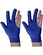 ONEX Pool, Billiard, Snooker Nylon Gloves for Both Hands
