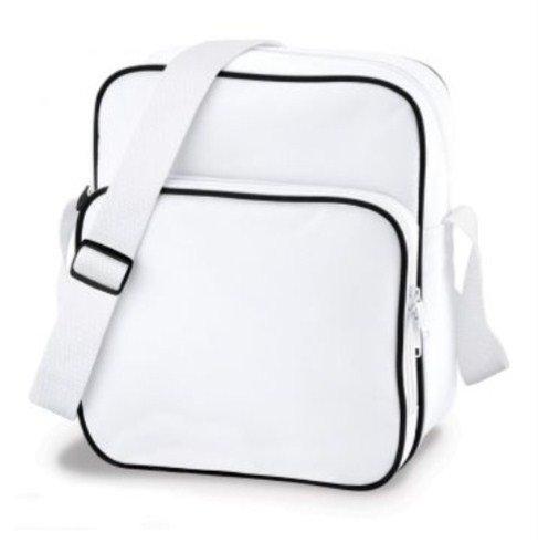 BagBase - Portatrajes de viaje Hombre, blanco y negro (multicolor) - PC2014-BG26-White Black-ONE