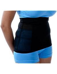 edf085060b6e6 Marielle Nude Black - Instant Tummy Tuck Invisible Body Shaper Waist  Cincher Girdle Corset