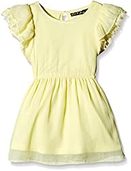 Gini & Jony Baby Girls' Blouse Top (122033189295 1293_Yellow_12-18 Months)
