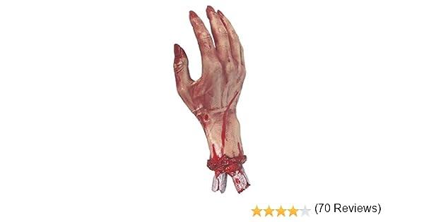30 cm Réaliste Sectionnée Bloody Hand sanglantes horreur fête d/'Halloween Prop Décoration