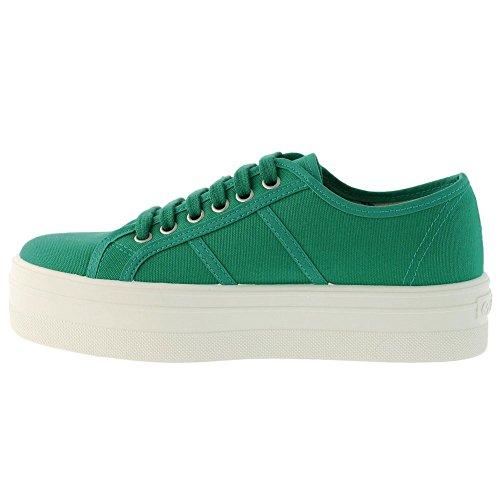 Victoria Blucher Lona, Damen Sneakers Beige(Verde)