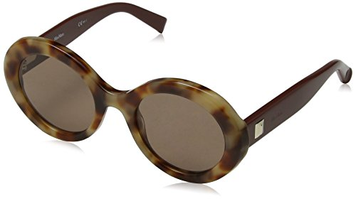 Max Mara MM Prism VIII 70 N6X 51 Occhiali da Sole, Marrone (Hvn Pqnbrick/BW Black Brown), Donna