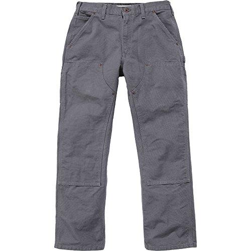 Carhartt Double Front Work Pants, 36 X 30 Cm, Gravel, Eb136