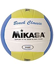Mikasa Classic Beach-Sand Volleyball, Olympic Replica Game Ball-Official Size