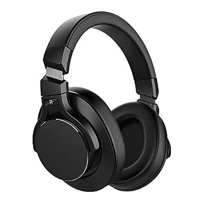 Mixcder E8 Casque Bluetooth à Réduction de Bruit Active avec Microphone Écouteurs ANC Sans Fil avec Son Stéréo, Basses Profondes, Conception Portable pour Voyage, TV, PC, Téléphones - Noir de mixcder
