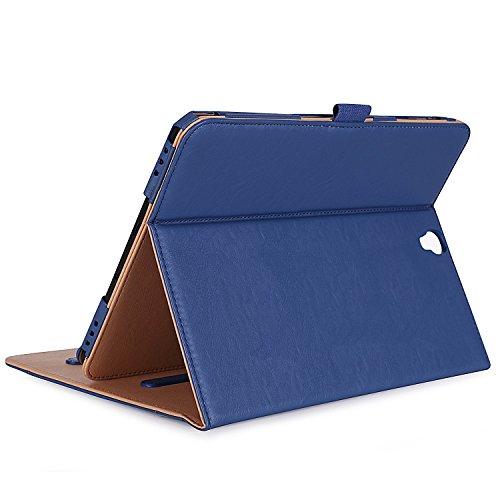 ProCase Klappen Schutzhülle für Galaxy Tab S3 Tablet, Stand Folio Case Cover für Galaxy Tab S3 Tablette (9,7 Zoll, SM-T820 T825), mit Mehreren Betrachtungswinkeln, Dokumentenkarte Tasche -Marine -
