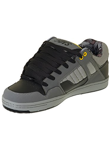 DVS Shoes Enduro 125, Scarpe da Skateboard Uomo black grey cement