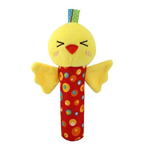 Sungpunet Huhnschätzchen Rassel Plüschtier Krippe hängen Spielzeug, Sportkinderwagen Autositz Bett Spielzeug, neugeboren Aktivität Entwicklung Spielzeug, einzigartige