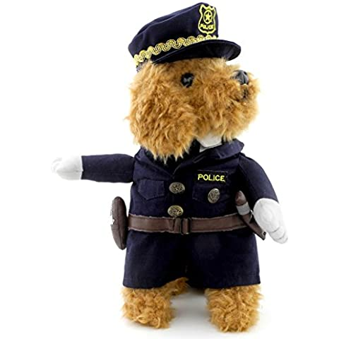 SMALLLEE_LUCKY_STORE Policeman Costume Outfits with Hat Collar