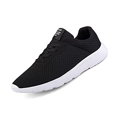 ZIITOP Trainers for Men Road Running Shoes Lightweight Sneakers Sports Shoes Mesh Althletic Casual Gym Shoes for Men