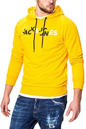 Gold Fusion (JACK & JONES Herren Hoodie Kapuzenpullover (Medium (Herstellergröße: M), Gold Fusion))