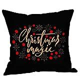 Beikoard Weihnachten Kissenbezug, Weihnachtsbrief Weihnachtskissen Christmas Kissenbezüge Bettwäsche Sofa Kissenbezug Home Decor Kissenbezug