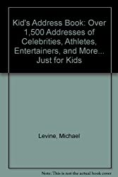 Kid's Address Book by Michael Levine (1992-09-08)