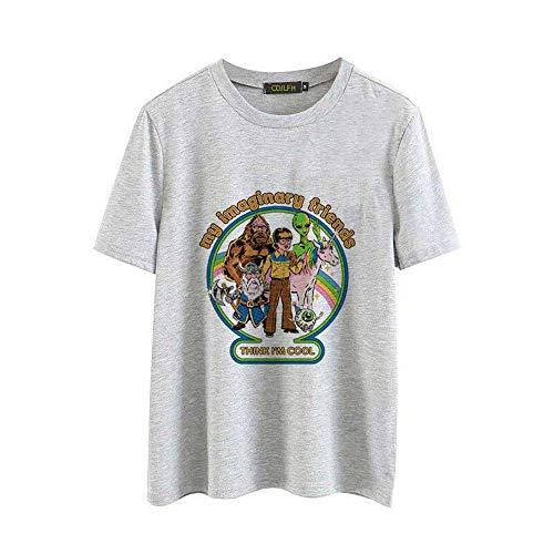 ZHOUBIANREN Camiseta Mujer