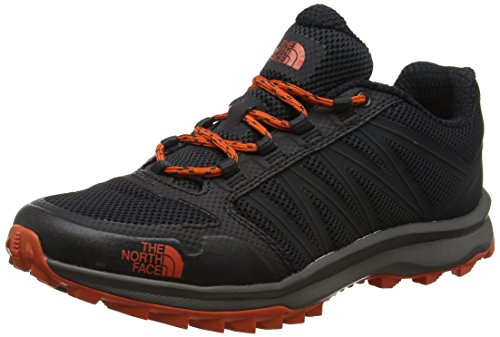 The North Face Herren Litewave Fastpack Trekking-& Wanderhalbschuhe, Grau (Phantom Grey/Tibetan Orange), 40.5 EU North Face Sport Shoes