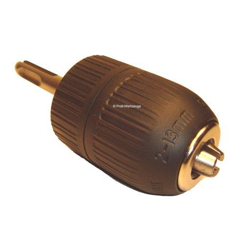 Preisvergleich Produktbild SDS-Plus-Adapter mit Schnellspannbohrfutter Schlagfest bis max. 750 W