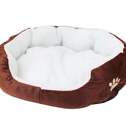 Depory Mascotas Mat - Perro Gato Caliente Suave Camas