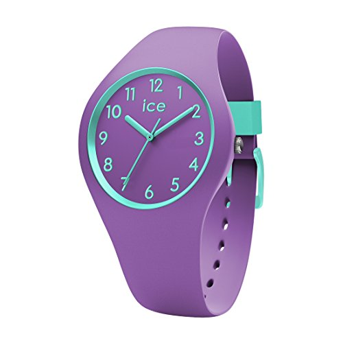 Ice-Watch - ICE ola kids Mermaid - Lila Mädchenuhr mit Silikonarmband - 014432 (Small)