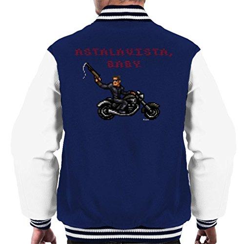 Cloud City 7 Terminator T1 Astalavista Baby Men's Varsity Jacket