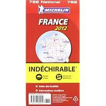 Carte NATIONAL indéchirable - France 2012