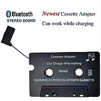 Adaptador multifuncional del casete de Bluetooth del coche Adaptador del receptor de la música de Bluetooth V4.1 con TF 4GB-work mientras que carga, ayuda TF