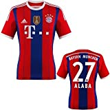 FC Bayern Alaba Trikot Home 2015 WC, M