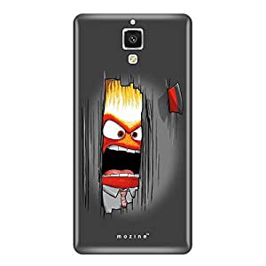 Mozine Axe My Wall printed mobile back cover for Xiaomi mi4