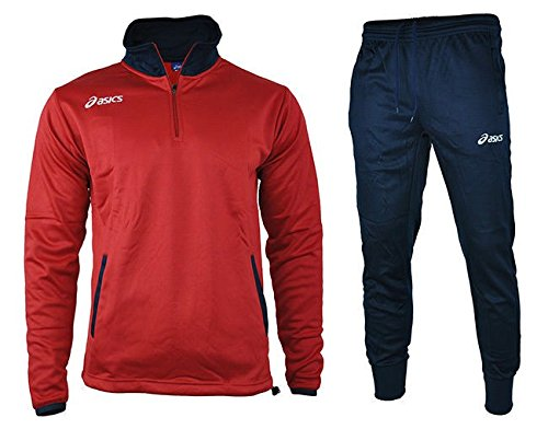 asics-suit-brazil-mens-herren-trainingsanzug-freizeitanzug-rot-navy-gr-xl