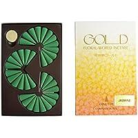 Shoyeido Jasmin Gold Floral World Räucherstäbchen–Set von 36Konus preisvergleich bei billige-tabletten.eu