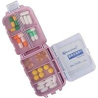 Klein Taschengröße Tablettenbox 7 Tage Aufbewahrung für Tabletten Kapsel Körnchen Wochendispenser Reise Pillendose... preisvergleich bei billige-tabletten.eu