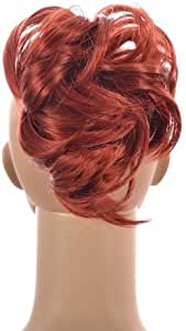 Hair By MissTresses Henna Red Pony Crop Ponytail Hairpiece