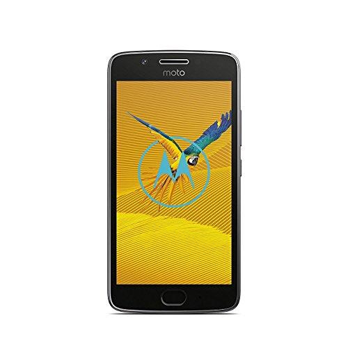 Lenovo 773163 Moto G5 Smartphone 16GB Kamera 13MP Brand Tim Android 7.0 (Nougat) Lunar Grau