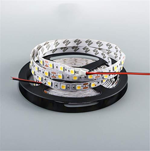 LED weiches Licht Gürtel ultrahelle Dekoration Display Schrank Tischlampe LKW Linie Licht Streifen Tropfen Kleber wasserdicht pro Meter 60 Lampe Perlen 5m 12V 5630 rotes Licht (Kleber Perlen Tropfen)