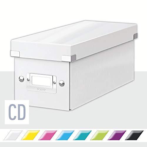 Leitz Click & Store CD Aufbewahrungsbox, weiß, 60410001