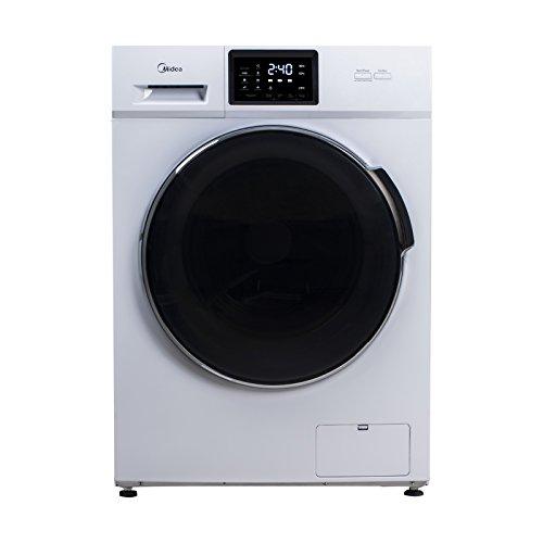 Midea W 6.74 td Waschmaschine Frontlader/A+++/1400UpM/Reload - Nachlegefunktion/Touch Bedienung/Weiß