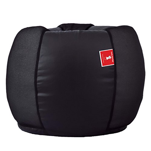 Comfy Bean Bag - Size Xxxl - Without Fillers - Cover Only (Black)  available at amazon for Rs.549
