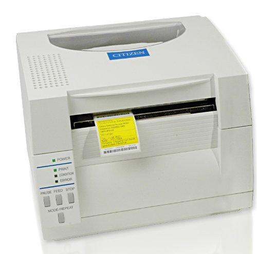 Citizen CL-S521 Thermodirekt Etikettendrucker, 8 Punkte/mm (203dpi), Peeler, ZPL, Datamax, Dual-IF, weiß (1000816P) Dual Peeler