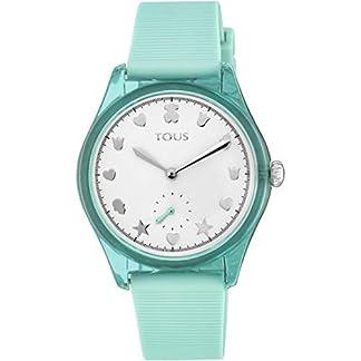 Reloj Tous 900350065 Free Fresh de Acero y policarbonato con Correa de Silicona Menta
