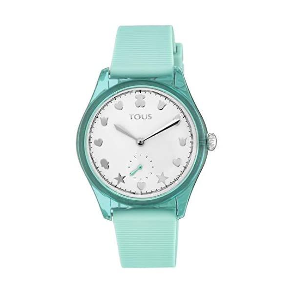 Reloj Tous 900350065 Free Fresh de Acero y policarbonato con Correa de