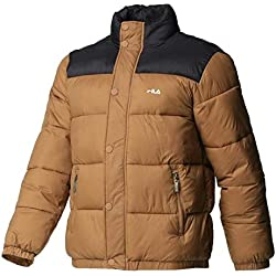 FILA. Piumino Men Raith Puff Jacket Cammello 682371 J87