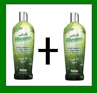 2-x-pro-tan-radically-hemp-tanning-lotion-sunbed-cream