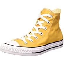 converse gialle alte