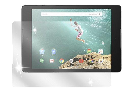 dipos I 3X Schutzfolie klar passend für HTC Google Nexus 9 Folie Bildschirmschutzfolie