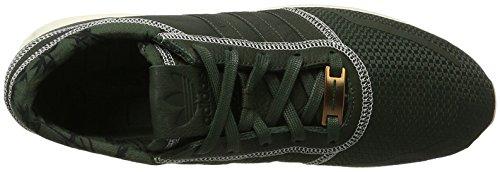 adidas Los Angeles, Unisex adulto Scarpe da corsa Verde scuro