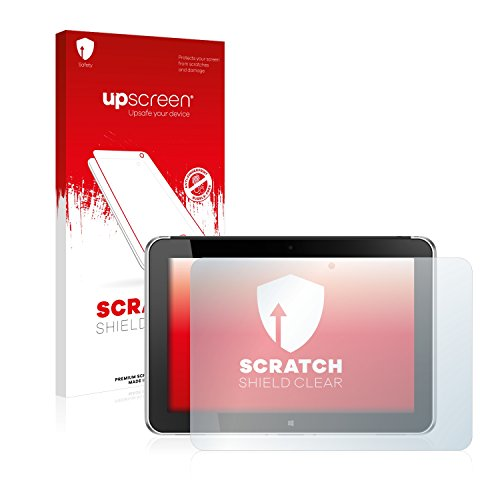 upscreen Schutzfolie kompatibel mit HP ElitePad 1000 G2 - Kristallklar, Kratzschutz, Anti-Fingerprint