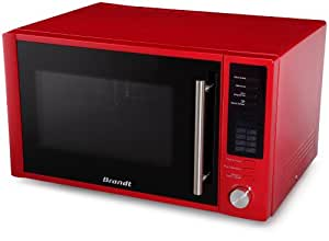 brandt se 2610 r micro ondes classique 900 w 26 l rouge cuisine maison. Black Bedroom Furniture Sets. Home Design Ideas