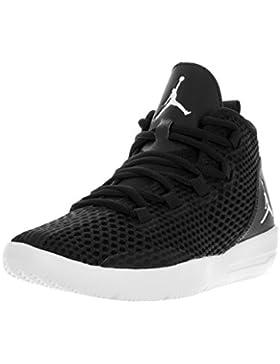NIKE Black-White, Zapatillas de Baloncesto para Niños