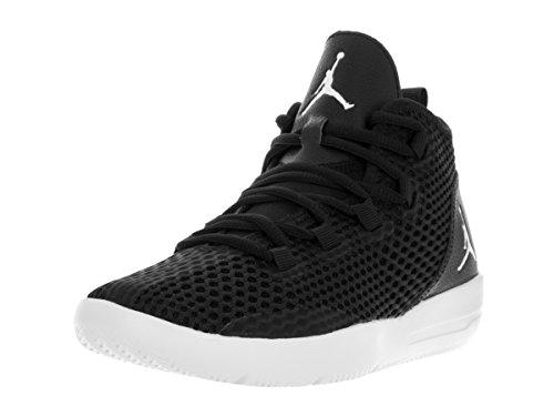 Nike Jungen Black-White Basketballschuhe, Black (Schwarz/Weiß-Schwarz-Weiß), 39 EU