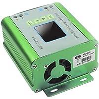 Controlador de Carga del Panel Solar MPPT, regulador de la Carga del regulador 48V 10A batería con indicador de LCD en Color, para el 24/36/48/60 / 72V de la batería